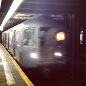 Bronx bound B train.