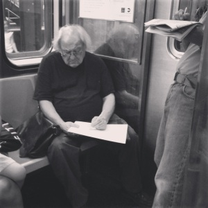 Subway creativity #nyc #nycpeople