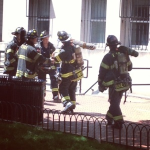 FDNY at work at Furnald Hall, Columbia University #fdny