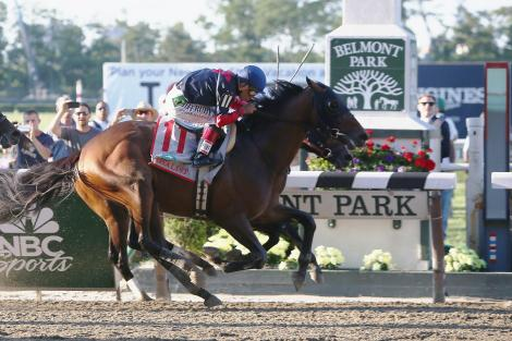 Tonalist won the 146th running of the Belmont Stakes, denying California Chrome the Triple Crown. (AP Photo)